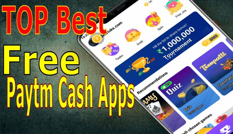 Best Paytm Earning App List