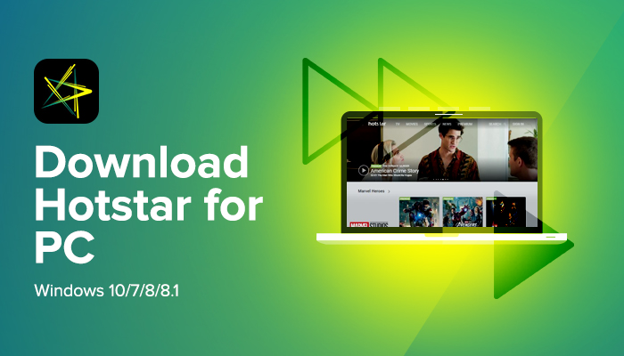 FREE Hotstar download for pc
