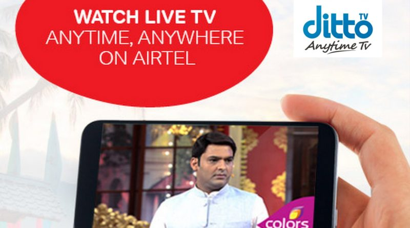 Free Airtel Ditto TV