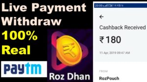 Rozdhan Withdraw Proof