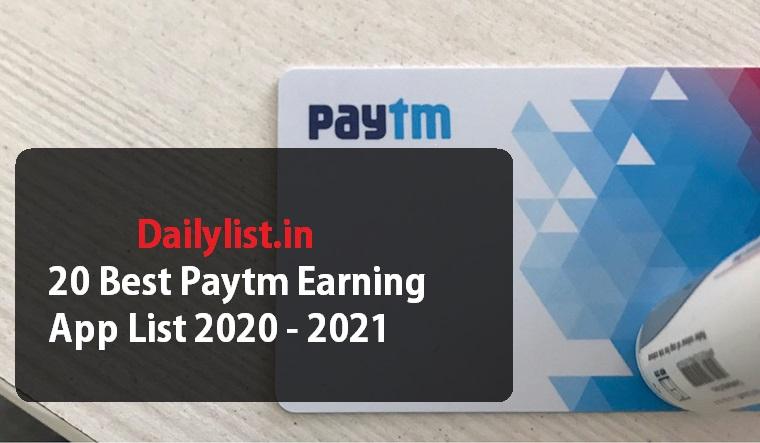 Best Paytm Earning App