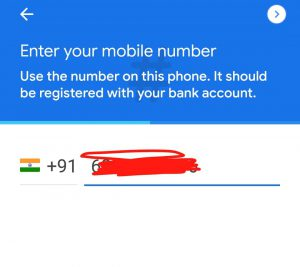 Google pay referral code india