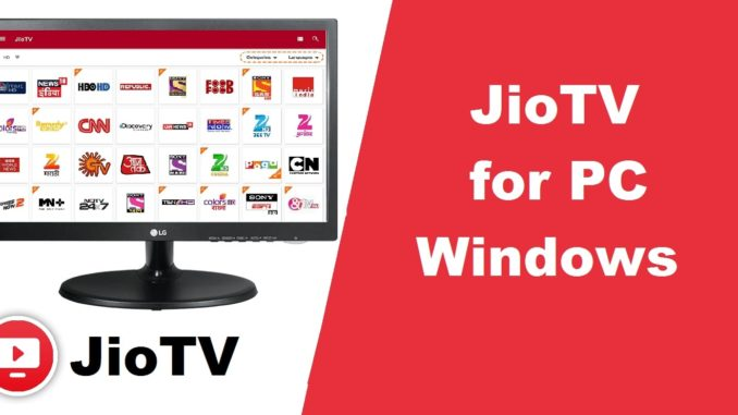 Jio Live TV App for PC