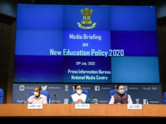National Education Policy 2020 announced The new policy aims to bring transformational reforms in school and higher education