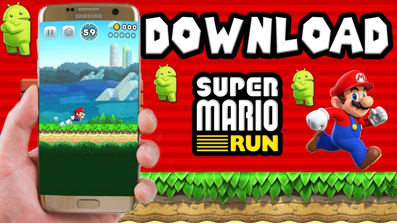 Super Mario Run Download For Android
