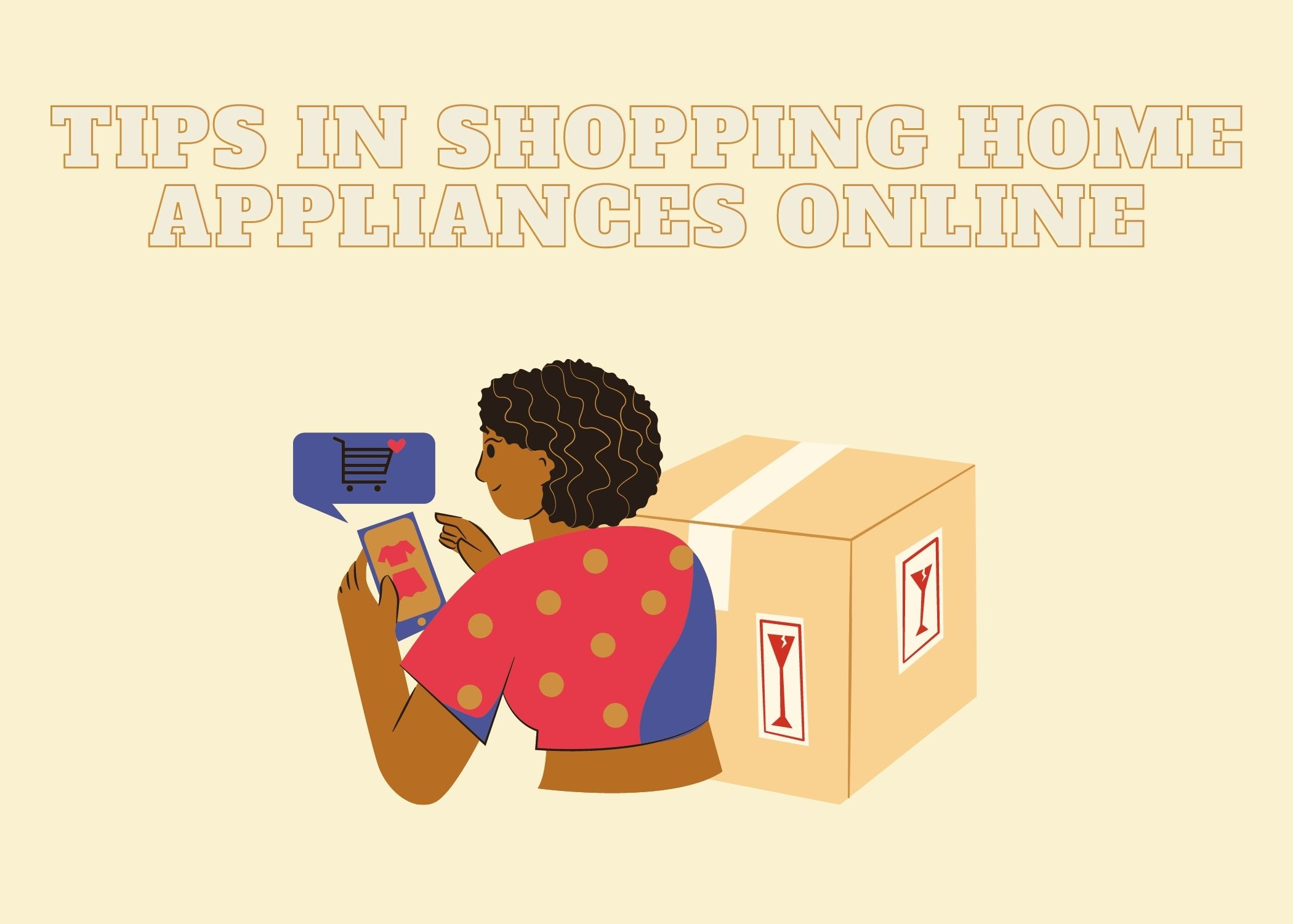 Tips in shopping home appliances online