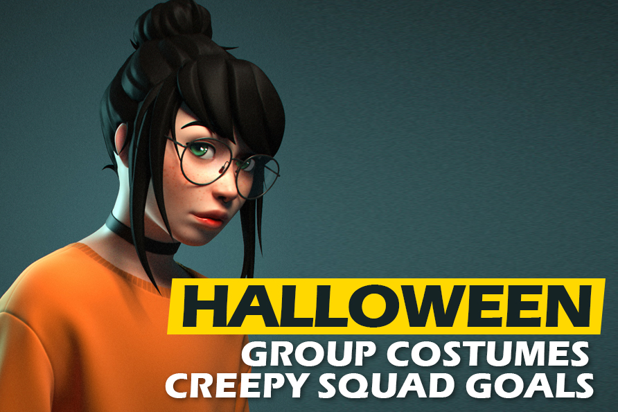 Halloween Group Costumes: Creepy Squad Goals