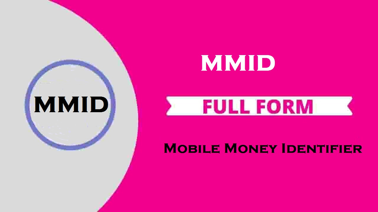 Full Form Of MMID in Banking