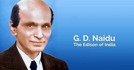G D Naidu