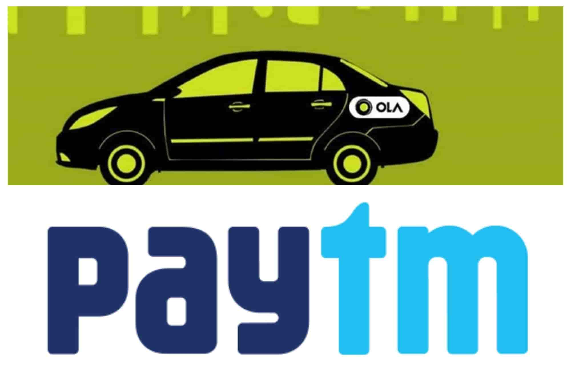 how to pay ola using paytm
