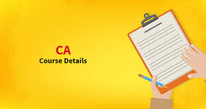 chartered accountant course fee details