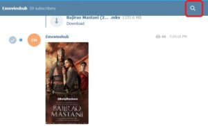 how to download movies in telegram