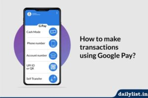 How to use Google Pay for bank to bank transfer