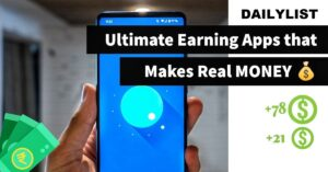 Real money earning apps in india