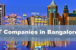 IT Companies in Bangalore