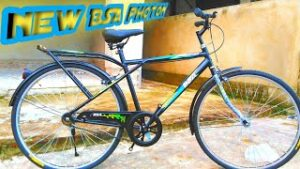 BSA Photon Ex With Bar End Bicycle